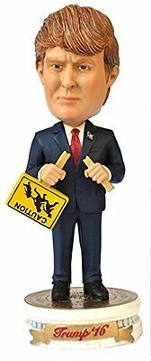 Donald Trump Bobble Head with Immigration Sign