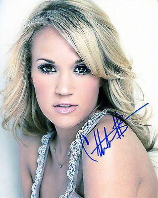REPRINT CARRIE UNDERWOOD 3 autographed signed photo copy