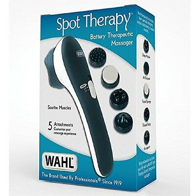 Personal Body Massager Relax Back Facial Neck Pain Relief Handheld Muscle Lumbar