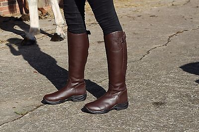New Faux Leather Long Riding Boots in Narrow & Wide Calf Size 5-10 BARGAIN