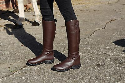 New Faux Leather Long Riding Boots in Narrow & Wide Calf Size 3-10 FINAL SALE