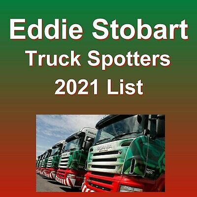 Eddie Stobart Truck Spotters Name Guide Book List Updated July 2018 & Free Gift