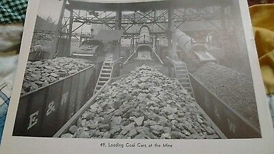 vintage train picture #49 Loading Coal Cars at the Mine