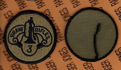 US Army 3rd Armored Cavalry Regiment ACR OCP Hook & Loop patch