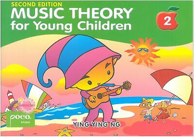 Music Theory for Young Children Level 2 YING YING NG POCO STUDIO PS3517 NEW