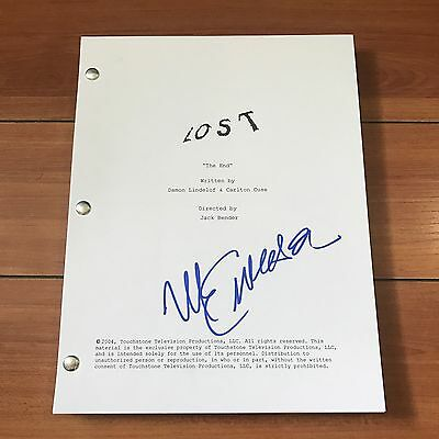 "Michael Emerson Signed Lost ""the End"" Finale Episode Script -In Person Autograph"