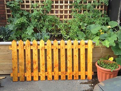Pickets Garden Fence Panels. NEW LOW PRICE 6ft x 3ft