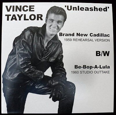 """VINCE TAYLOR -""""Brand New Cadillac"""" BBC recording from 1959 - HEAR IT"""