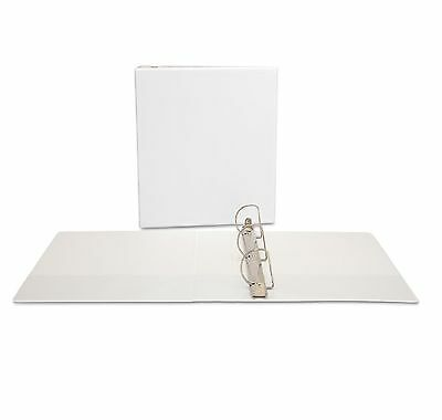 """Office Impressions Economy View Binder D Ring 2"""" White - Brand New Item"""