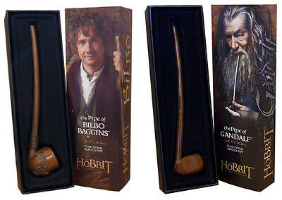 Hobbit Lord of the Rings Pipe Gandalf or Bilbo Smaug Dwarf Coins Glamdring Noble