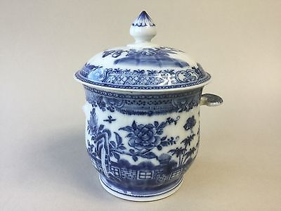 18th Century Chinese Posset Pot / Bowl and Cover
