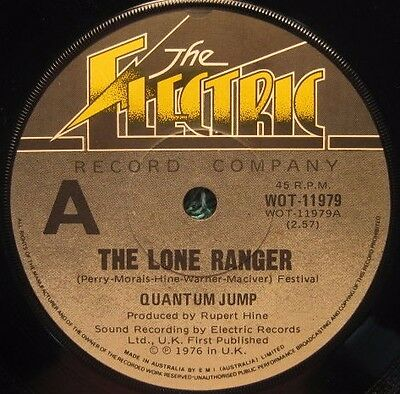 "QUANTUM JUMP- ""The Lone Ranger/Neighbours"", RARE Aussie release 45rpm Single"