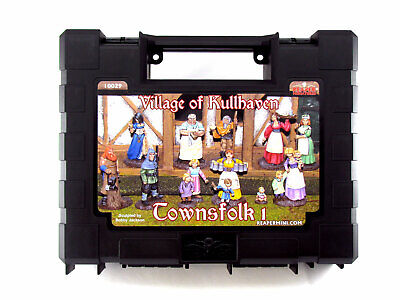 Reaper Miniatures Unpainted The Village of Kullhaven Townsfolk I 10029 Boxed Set