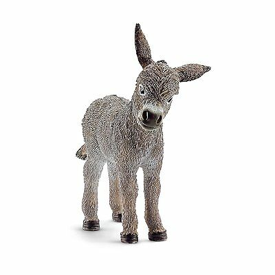 Donkey Foal Schleich Figure Colelctible Toy for Kids Boys Girls