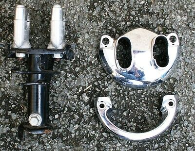 Honda Pcx125 Pcx 125 11 Top Yoke Handlebar Clamps Top Yoke Covers Trim Cowl
