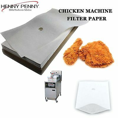 Henny Penny Oil Filter Paper And Southern Fried Chicken Machine Filter Paper