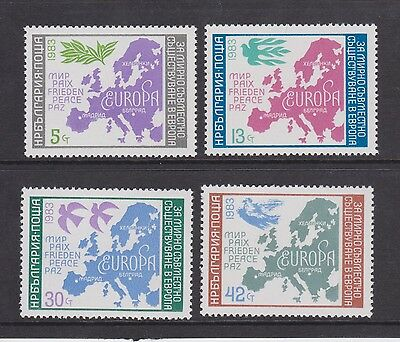 Umm Mnh Stamp Set Bulgaria European Security Conference 1983 Lot 2