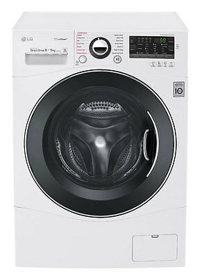 NEW LG - WD1409HPW - 9kg/5kg Front Load Washer/Dryer from Bing Lee