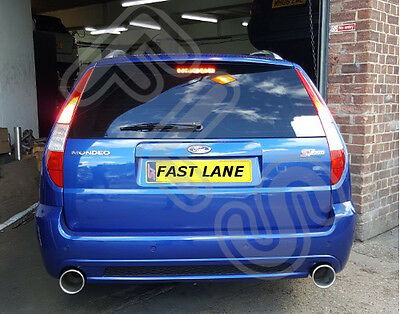 Ford Mondeo ST220 Back End Dual Stainless Steel Exhaust System
