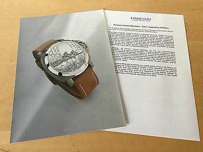 Press Kit PANERAI Luminor Blackseal 44mm - Picture + Details  Watch NOT Included