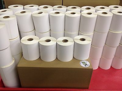 4 Rolls 4x6 Direct Thermal Labels Rolls of 250 / 1000. For Eltron Zebra 2844 450