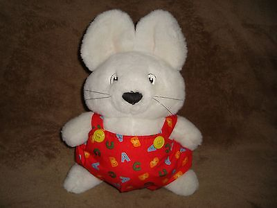"Max & Ruby Bunny Named MAX 11"" Tall Plush 1997 Eden"