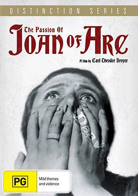 The Passion of Joan of Arc NEW PAL Arthouse DVD C. Theodor Dreyer M. Falconetti