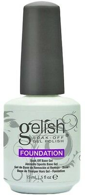 Harmony Gelish Foundation base Coat .5 oz. ea. Perfect nails, stylish.