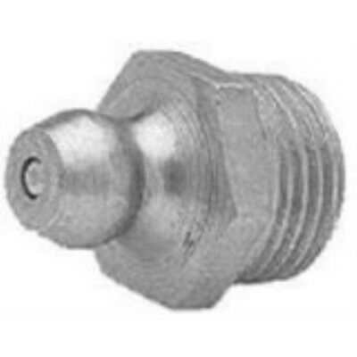 """Short Straight Grease Fitting 1/4"""" -28Thr (570-11-101) Category: Grease Fittings"""