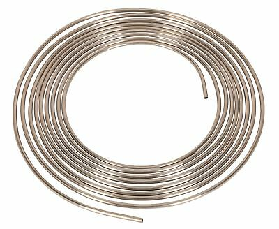 "Sealey Brake Pipe Seamless Tube Cupro-Nickel 22 Gauge 1/4"" x 25ft BS EN 12449"