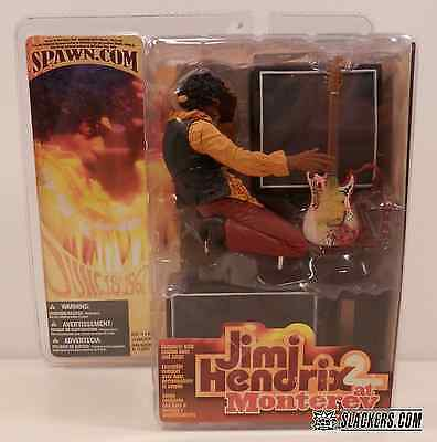JIMI HENDRIX 2 at MONTEREY New In Box SEALED McFarlane 2004 ACTION FIGURE Fender