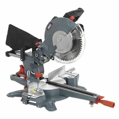 Sealey Double Sliding Compound Mitre Saw 250mm SMS255