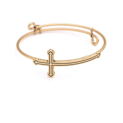 SOL 220021 Stay Positive Bangle Antique Gold Color Finish