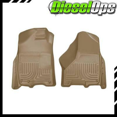 Husky Liners WeatherBeater Front Floor Mats Tan For Dodge Ram For MG/CC 11-15