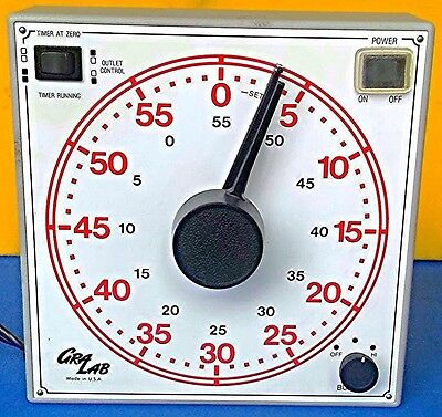 GRALAB 60 Minute General Purpose TIMER MODEL 171 WATCH VIDEO HERE FREE SHIPPING