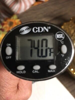 DTQ450X CDN ProAccurate,Digital,NSF,QuickRead, Chefs Pocket Food Thermometer NEW