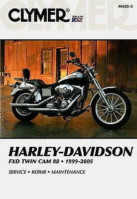 Harley Davidson FXD Dyna Scivolo Ampiezza 1999-05 Clymer Manuale M425-3 NUOVO