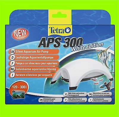 Tetra APS 300 POMPE À AIR AQUARIUM BLANC Edition A POUR 120-300l