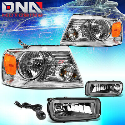 DNA MOTORING FL-T048-SM Front Bumper Fog Light