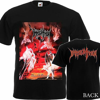 """New T-Shirt """"Dawn Of Possession By Metal Band Immolation"""" Dtg Printed Tee-S:6Xl"""