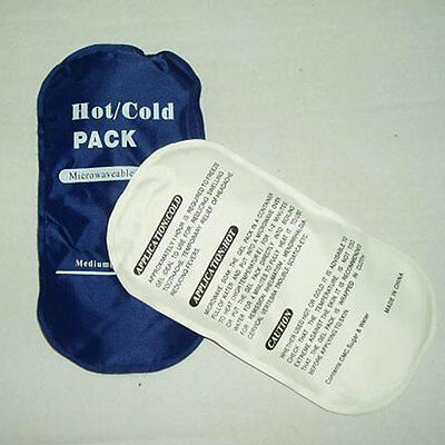 Health Care Reusable Hot / Cold Gel Ice Pack Sports Muscle / Back Pain Relief