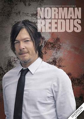 Norman Reedus 2017 Large Wall Poster Calendar New With Free Uk Postage