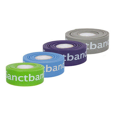 Flossband Level 1-4, 2 m x 2,5 cm, 4er Set