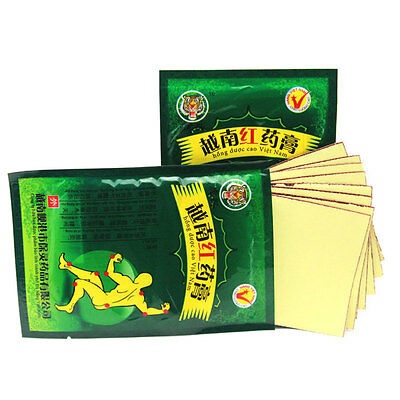 16PCS/2Lot Vietnam Red Tiger Balm Plasters Massage Pain Relief Patch For Joints