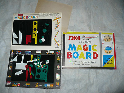 Gadget Compagnia Aerea Twa Flying Magid Board Fun For The Children Sticks Like