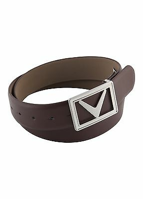 Callaway Mens Golf Modern Chev Leather Belt Sports Clothing Accessories 42% OFF