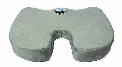Premier Orthopedic Seat Cushion Gel Memory Foam with Cover Vinceres