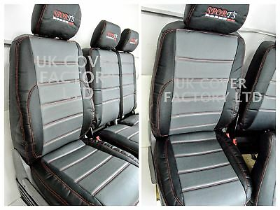 Fiat Ducato /Peugeot Boxer/ Citroen Relay Van Seat Covers Quilted  X120Gybk-Rd