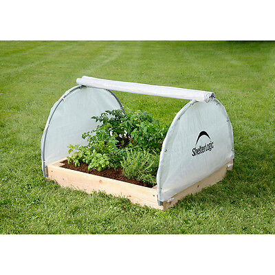 Shelterlogic Round Raised Bed Greenhouse w Closable Cover 4' x 4' x 2' / 70617