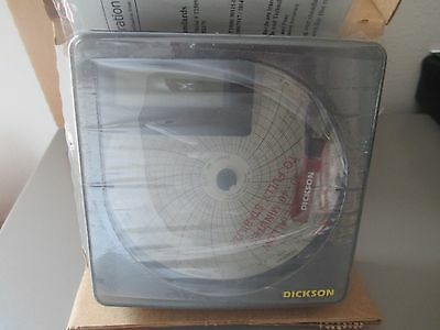 "NIB Dickson SL490 4"" Temperature Recorder"
